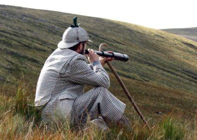 Jagdreise in Schottland