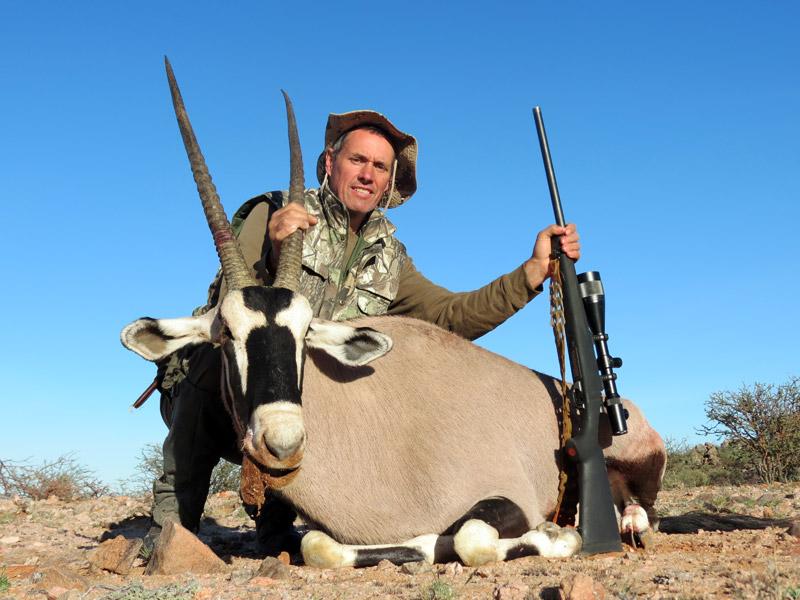 Jagd in Karoo