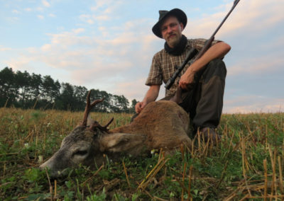 Jagdreise in Budweis, Tschechien